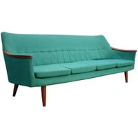 1STDIBS.COM - Stellar Union - Swedish Teak Sofa