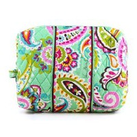 Vera Bradley Large Cosmetic in Island Blooms