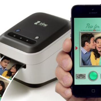 ZINK hAppy Smart App Printer featuring Zink Zero Ink Technology