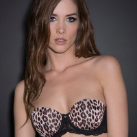 Leopard Print Scandalous Multi-Way Bra