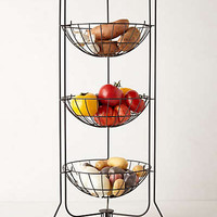 Curved Trio Basket Stand