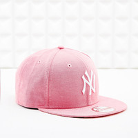 New Era 9Fifty New York Yankees Cap in Pink - Urban Outfitters