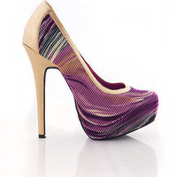 Voodoo Ripple  Heels - Sexy Heels at Pinkice.com