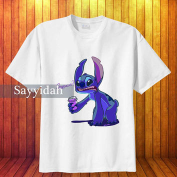 Starbucks stich , T-Shirt Beautyful Design By : Sayyidah