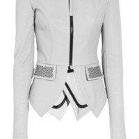 Thomas Wylde | Sexy Tux leather jacket | NET-A-PORTER.COM