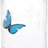 ThinkGeek :: Electronic Butterfly in a Jar