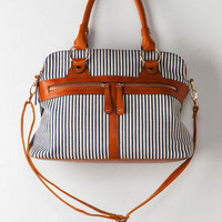 SAN DIEGO STRIPED SATCHEL