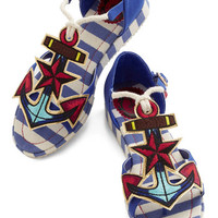 Questions and Anchors Sandal | Mod Retro Vintage Sandals | ModCloth.com