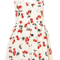 Cherry Glitter Sun Dress - Dresses & Playsuits  - New In This Week  - Topshop