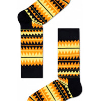 Cool socks for fun people at HappySocks - Zigzag yellow