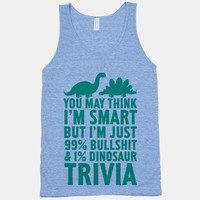 99% Bullshit and 1% Dinosaur Trivia