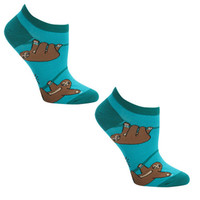 Sloth Ankle Socks by Sock it to Me | Super Fun Time Gifts - Quirky, Trendy, Fun!