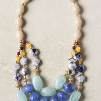 Blurred Blue Necklace - Anthropologie.com