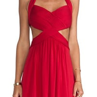 BCBGMAXAZRIA Shea Dress in Red