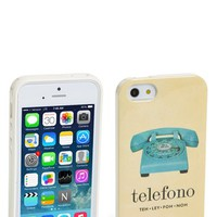 kate spade new york 'italian flashcards' iPhone 5 & 5s case | Nordstrom
