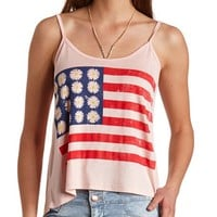 DAISY AMERICANA GRAPHIC TANK TOP
