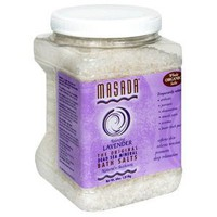 Masada Bath Salts, Dead Sea Mineral, 64 oz