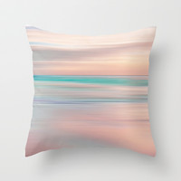 SUNRISE TONES Throw Pillow by Catspaws