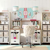 Study Room Ideas & Desk Inspiration | PBteen
