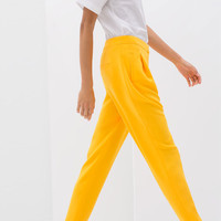 LOOSE FIT TROUSERS WITH PLEATS
