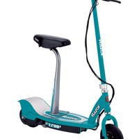 Razor E200S Seated Electric Scooter (Teal, 37 x 16 x 42-Inch)