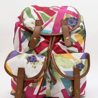 Floral Brit Backpack