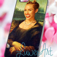 Miley cyrus monalisa - iPhone 4/4s/5 Case - Samsung Galaxy S2/S3/S4 Case - Blackberry Z10 Case - Ipod 4/5 Case - Black or White