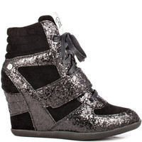 Blink&#x27;s Black Anslee Glitter - Black for 79.99 direct from heels.com