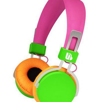 Neon Over Ear Headphones