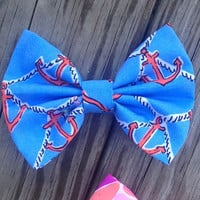 Lilly Pulitzer Anchors Away Hair Bow
