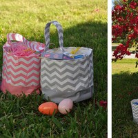 Chevron Easter Basket Blowout