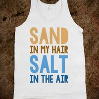 SAND IN MY HAIR SALT IN THE AIR - UNDERLINEDESIGNS