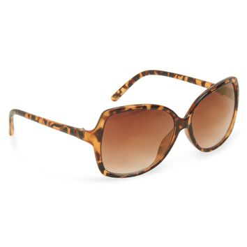Aeropostale Womens Square Butterfly Sunglasses -