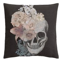 H&M - Cushion Cover - Black