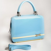 Aeroplane Bag in Sky Blue