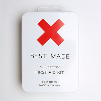 Metal First Aid Kit [large] - First Aid Kit