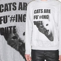 Cute Burma Cats Kitty Love Indie Hipster Swag Emo Animal Sweater Shirt S-XXL