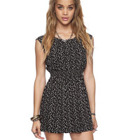 Smocked Confetti Print Dress | FOREVER21 - 2000035832