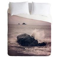 Catherine McDonald Northern California Beach Duvet Cover Wanderlust Sunset