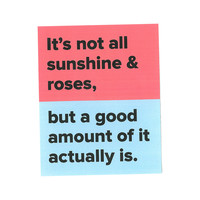 Sunshine & Roses Sticker