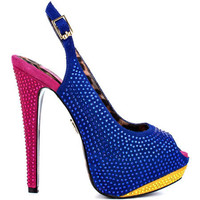 Betsey Johnson&#x27;s Multi-Color Alexii - Blue Multi for 149.99 direct from heels.com