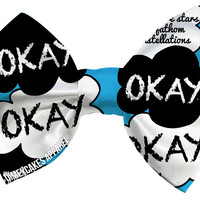 Okay? Okay. The Fault In Our Stars - Dimeycakes - Hair Bows, Cases, & Apparel