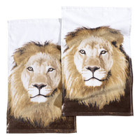 H&M - 2-pack Guest Towels - Lion