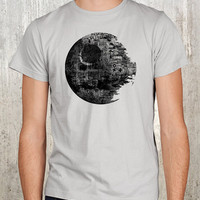 Death Star Vandalism Men&#x27;s Screen Printed by CrawlSpaceStudios