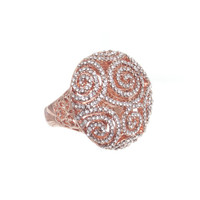 Rose Champagne Ring
