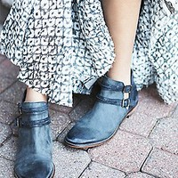 Free People Womens Braeburn Ankle Boot