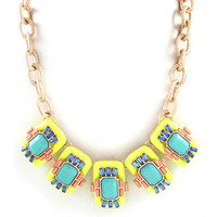 Pre-Order: World Traveler Necklace - Yellow