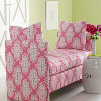 "Lilly Pulitzer Home - ""Rowan"" Bench - Horchow"