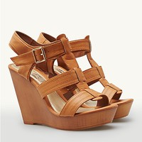 Buckled Interlock Platform Wedges