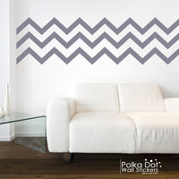 Long Chevron Wall Decals | Peel and Stick